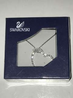 NIB Swarovski Crystal Heart Necklace