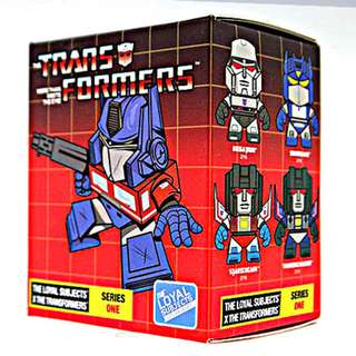 The Loyal Sujects x Transformers Series 1 (3 Inch Figure - 1 Blind Box)