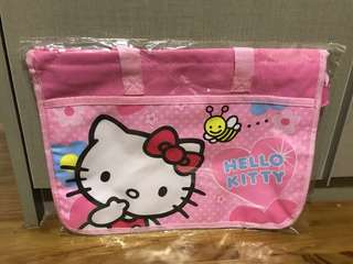 Brand New Art / Books - Carrier / Bag / Folder : Tsum Tsum / Hello Kitty