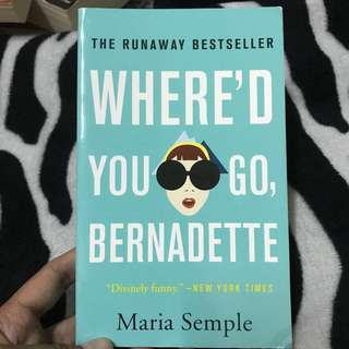 Maria Semple-Where'd you go,Bernadette