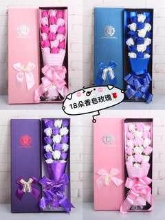 Fast deal $22!!Soap Flower/Mother's day Flower/Valentine Flower/Birthday Flower