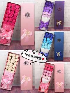 Fast Deal $22!!!Valentine Flower/Mother's day Flower/Birthday Flower/Soap Flower