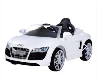 Audi R8 Spyder Ride Car for Babies Toddlers Children Kids