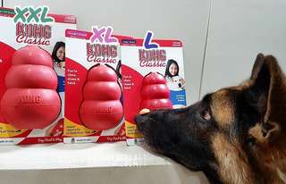 KONG Classic XLARGE Dog Toys from 🇺🇸USA!