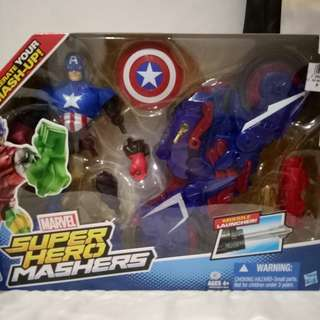 Super Hero Mashers (CAPTAIN AMERICA)