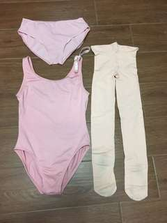 Ballet leotard set