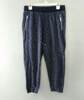 GAP Zipper Navy Jogger Pants