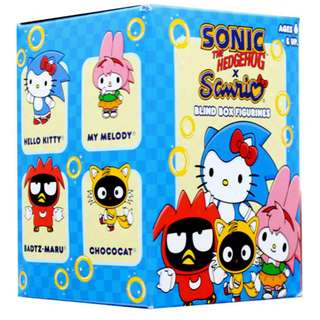 Blind Box Figurines Sonic the Hedgehog x Sanrio