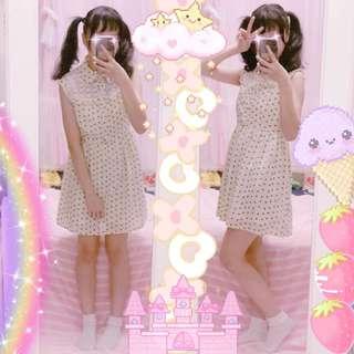 🚚 日系 東京著衣 無袖洋裝 少女 氣質