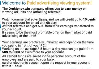 Earn money during your free time.
