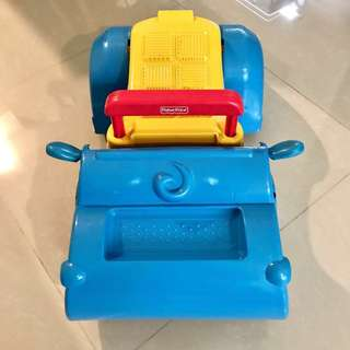 (To Bless with purchase more than $25) Preloved Fisher Price baby push car
