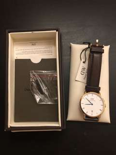 Daniel Wellington Dapper Bristol Watch Rose Glod 34mm