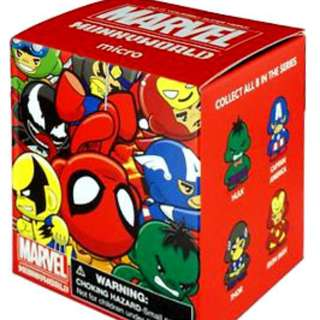Marvel Munnyworld Micro Marvel Comics Vinyl Figure One Blind Box