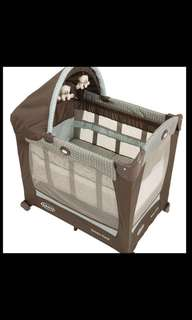 GRACO PACK N PLAY TRAVEL LITE CRIB WITH STAGES