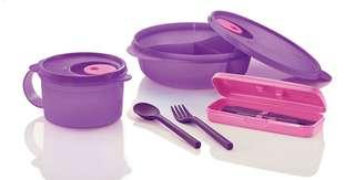 Tupperware set #letgo4raya