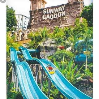 Sunway Lagoon 6 parks FOR ADULT Kuala Lumpur Malaysia