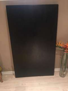 Black Table (36 x 60 inches)