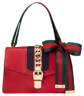 Gucci Sylvie Medium in Red