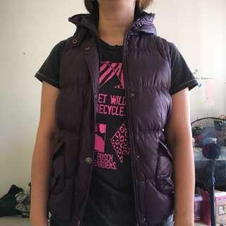 Elle bubble jacket vest