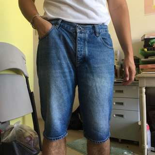 Topman skinny short denim