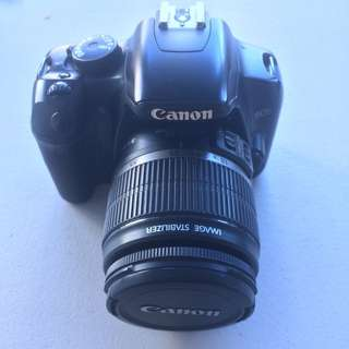 Canon 450d with kit lens