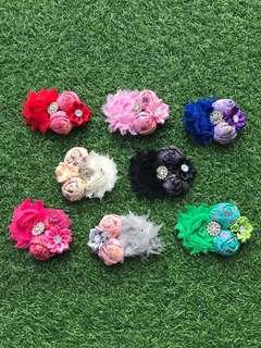 Vintage Floral Hair Accessories Clip