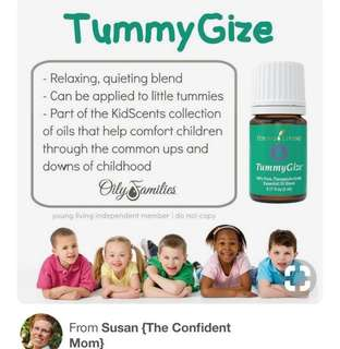 $18.30 young living kidscents tummy gize