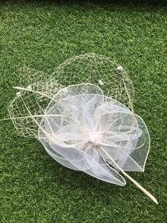 Net Headpiece Flower Girl Accessories