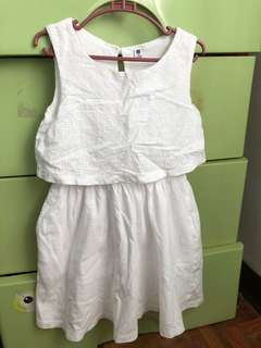 Uniqlo dress size 110 for 2-3yrs