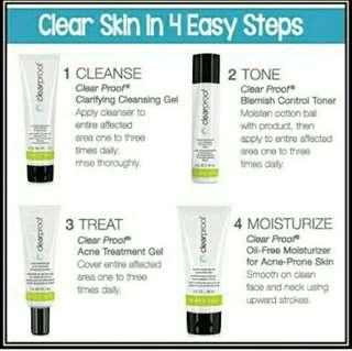 clearproof Regimen Set for Acne Prone skin