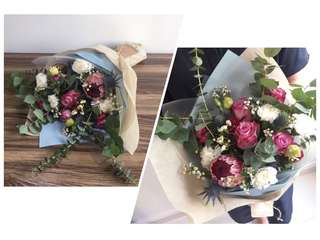 Mother's Day Flower Bouquet - Delivery Included