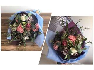 Mother's Day Fresh Flower Bouquet - Delivery Included