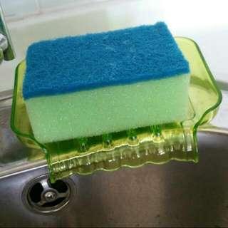 Soap & sponge box