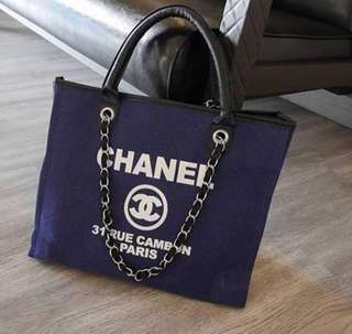 Chanel Cambon Tote Bag Authentic Gift