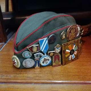 前蘇聯~襟章/帽章~$30~$60/個