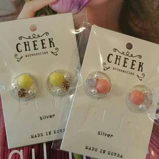 Korea imported pearl Earring for sales