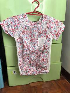 Peppermint blouse size 12 for girls