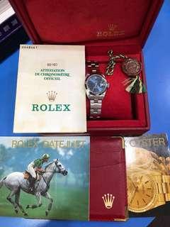 Rolex  69160 Lady Size like new Full Set Unpolished
