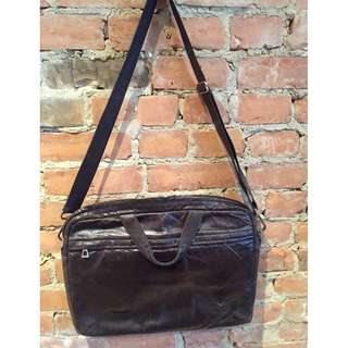 Leather Rudsak computer bag