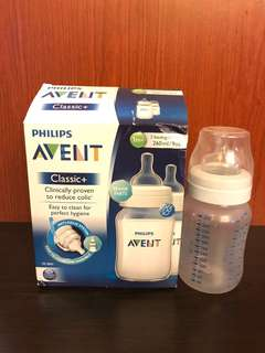 Phillips Avent Bottle Classic 260ml New