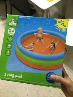 Almost new elc swimming pool float