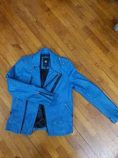 Bauhaus leather jacket
