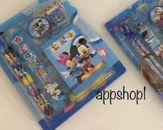 Mickey wallet set- goodies bag, goody bag packages, goodie bag gift