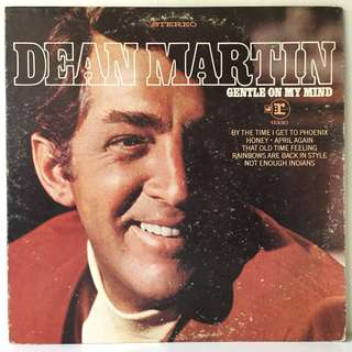Dean Martin ‎– Gentle On My Mind (1968 USA Original - Vinyl is Excellent)