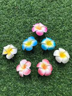 FOC Free Gift with Purchase Floral Hair Clip Bundle