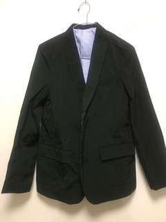 90%off Initial Dark green jacket