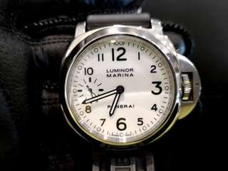 PREOWNED PANERAI Luminor Marina,  56 hrs Power Reserved, PAM 113, Year 2010 Manual Winding, 44mm Mens Watch