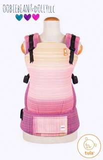 Obbiebean&Dolly Lucca Saumon Weft Tula Toddler