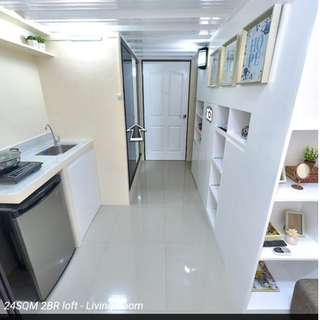 2 Bedroom condominium unit (loft type)