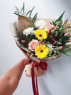 Flower Bouquet- blooms of the week